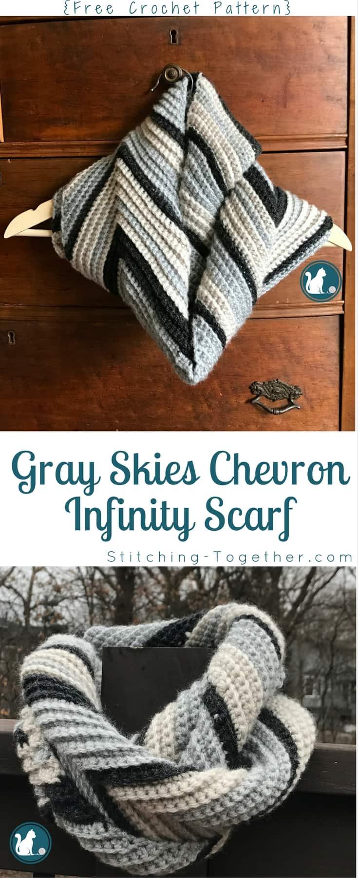 Free Crochet Pattern Infinity Scarf