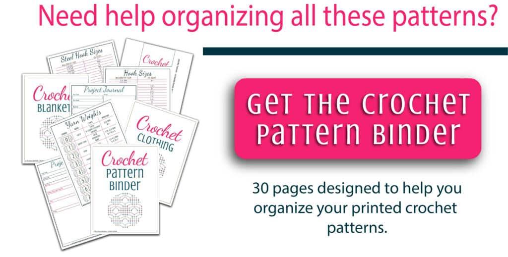 Crochet Pattern binder image
