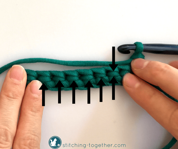 How to single crochet rib stitch. Get the look of a knitted rib stitch with this simple single crochet technique