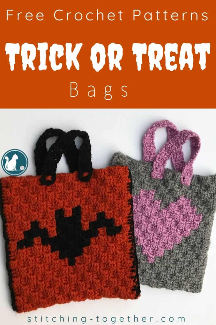2 trick or treat bags pin image