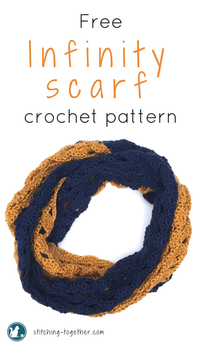 The Rival Crochet Infinity Scarf | Stitching Together
