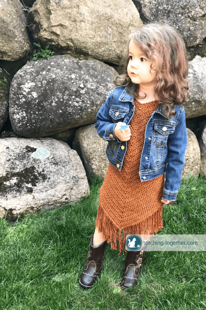 1e6be268e Free pattern for an easy crochet toddler dress. Even if you are a beginner  crocheter