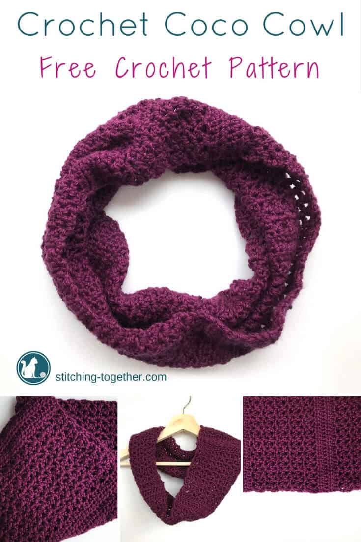 What a grogeous crochet cowl! Can you believe it is a free pattern and only requires one skein of Red Heart Soft yarn? I could easily make this in an afternoon. This is a must save pattern.