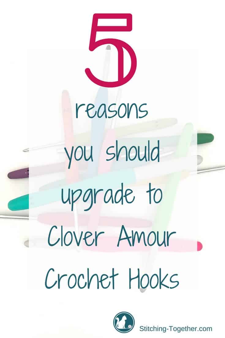 No contest, these are the best hooks I have ever used. With them I can crochet longer and faster. Read the full clover amour crochet hook review.