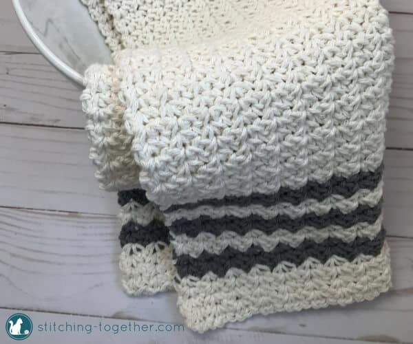 Crochet Country Dish Towel