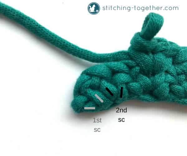 Learn how to crochet the spider stitch with this step by step photo tutorial. It is an easy to follow guide for the spider stitch.
