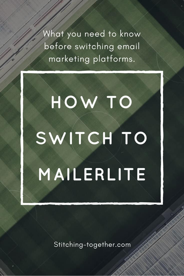 Thinking of switching to MailerLite? Find out the one mistake you don't want to make while when moving your list. This how to switch to MailerLite tutorial will guide you step by step in your email marketing platform transition.