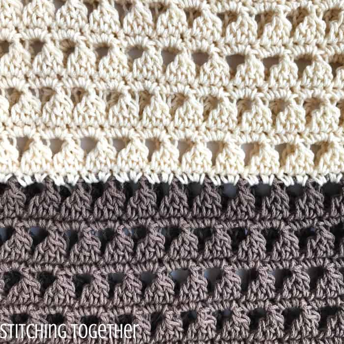 triangle crochet stitches