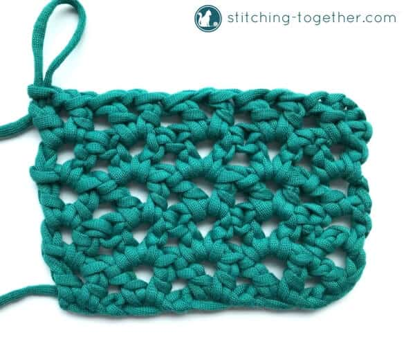 How To Crochet The V Stitch Stitching Together