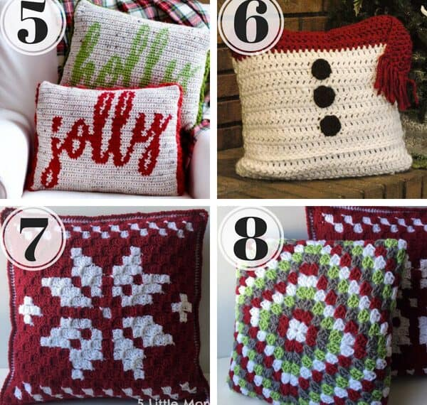 Who is ready for Christmas in July? Get a head start on making your home Christmas ready with this roundup of premium and free crochet patterns for gorgeous Crochet Christmas Pillow Patterns. These cute Christmas cushions will add a wonderful handmade touch to your Christmas décor.