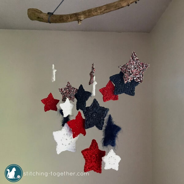 Crochet Star Wall Hanging | Stitching Together