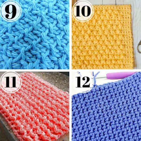 40 Best Crochet Stitches For Dishcloths Stitching Together Inspiration Best Crochet Dishcloth Pattern