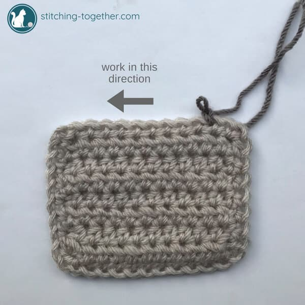 Crochet Crab Stitch Reverse Single Crochet Stitching Together