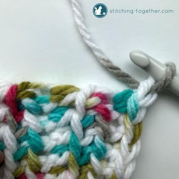 Adding border to baby blanket