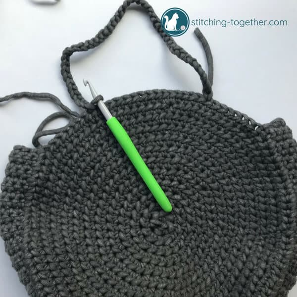 starting chain handle for circle bag