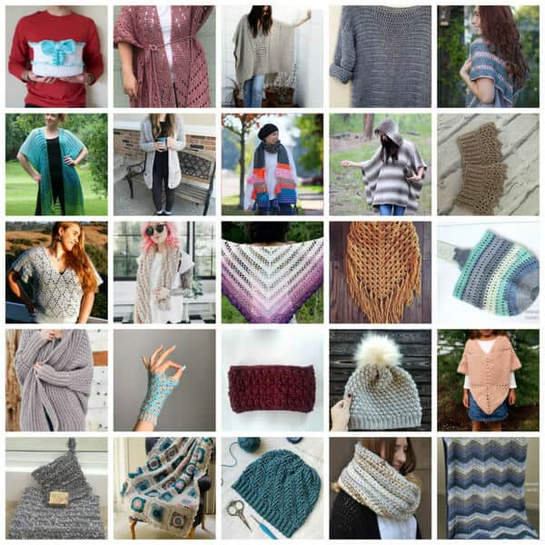 collage for crochet pattern bundle