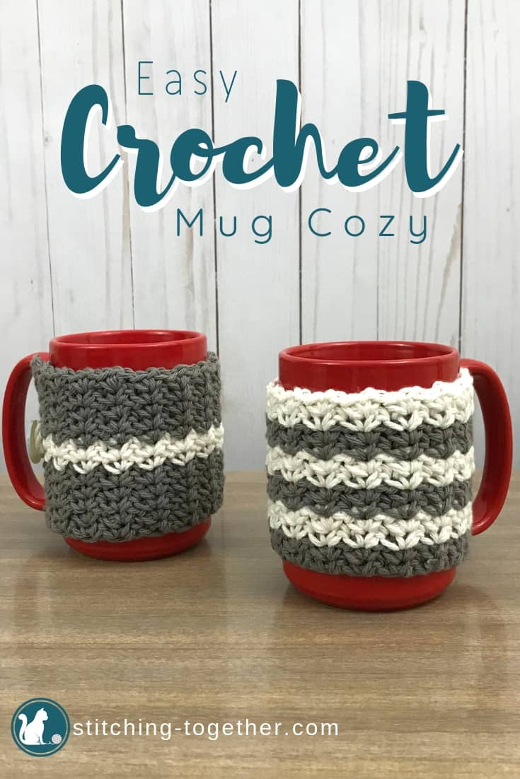 Country Crochet Coffee Cup Cozy Stitching Together
