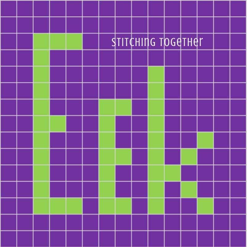 Eek graph for crochet bag