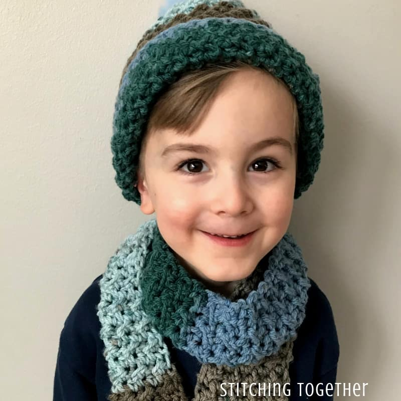 Over The Ridge Crochet Boy Hat Pattern Stitching Together