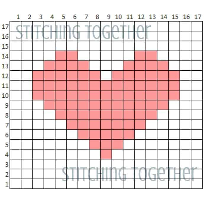 heart graph for headband