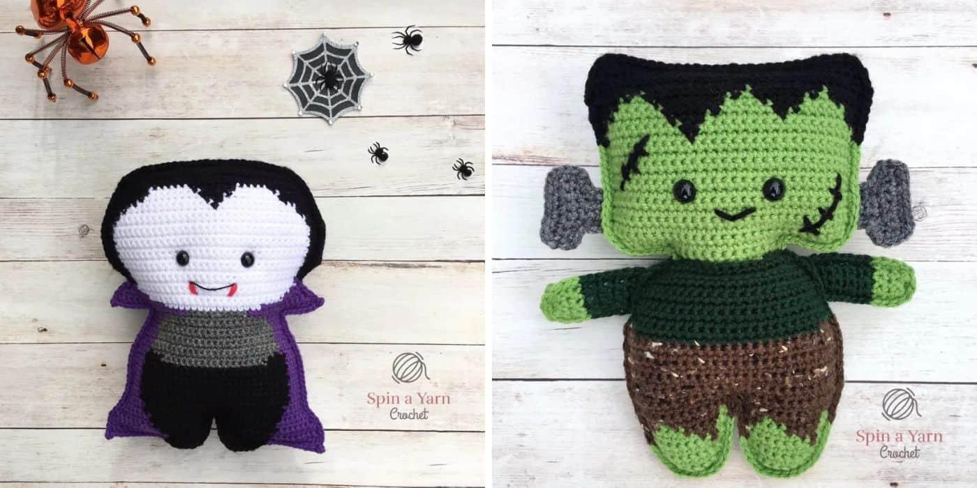 crochet halloween ragdolls