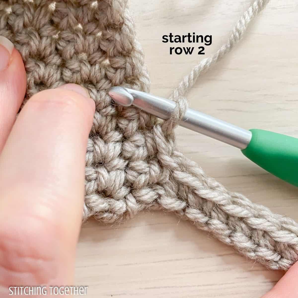 adding crochet ribbing