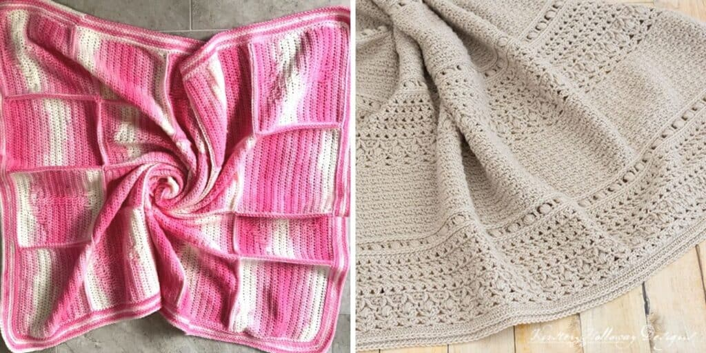 light weight crochet blankets